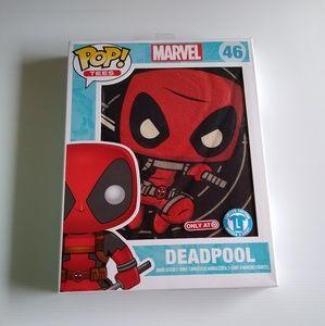 Funko Pop marvel Deadpool target exclusive shirt